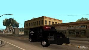 swat vehicles enforcer for gta san andreas