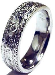 custom mens wedding bands custom made mens wedding rings perslized stmp clssic cmer engraved