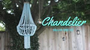 Chandelier Youtube Diy Chandelier Cheap Dollar Store Diy Youtube