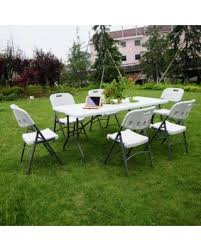 6 ft portable folding table new savings are here 19 off ktaxon 6 ft portable folding outdoor