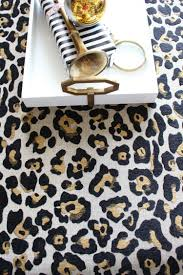 leopard ottoman diy the house of silver lining