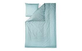 cube bedlinen in blue minimalistic designer bedlinen in modern print