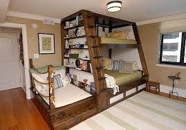 Bunk Beds With Trundle Bed Bedroom Extraordinary Chalk Monkaitis Custom Designed Nautical