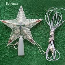 christmas tree toppers behogar led color changing l christmas tree topper