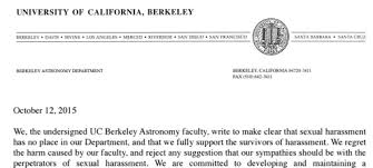 geoffrey marcy u0027s berkeley astronomy colleagues call for his