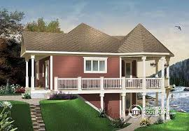 House With Wrap Around Porch House Plan W3900a Detail From Drummondhouseplans Com