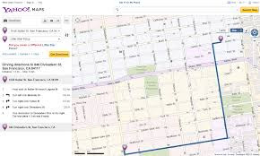 Yahoo Maps And Driving Directions Yahoo Maps Get Directions Maps Google Ocm Functional Map
