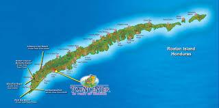 map of roatan honduras large roatan maps for free and print high resolution