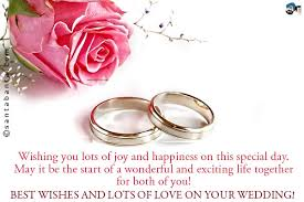 Wedding Day Greetings Wedding Wishes Ecard