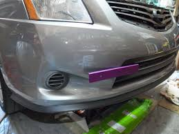 nissan sentra jdm b15 how to front license plate relocation allsentra com the