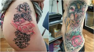 100 rib tattoos for girls feminine rib tattoo for girls