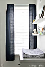 Hemming Tape Curtains How To Save Money On Curtain Panels The Inspired Hive