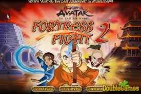 avatar airbender fortress fight 2 game