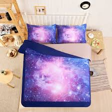 Space Bedding Twin Colour Stars Hipster Galaxy 3d Bedding Sets Universe Space Duvet