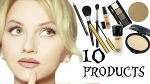 bridal makeup products minimalistic bridal makeup only 10 makeup products