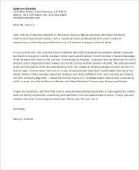 adoption counselor cover letter