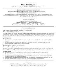 investment banking resume sample investment banking resume