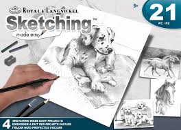 sketching made easy art activity set animals 062593 details