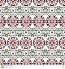 ornamental seamless pattern east oriental design ethnic style