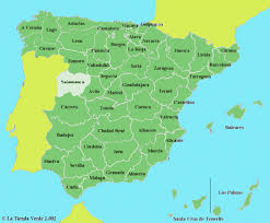 spain on a map spain 50k index