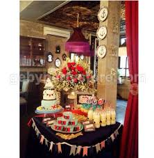decoration service table setting mini sweet corner with