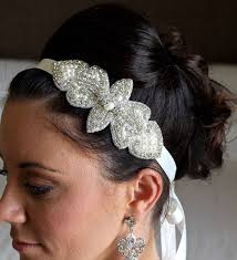 beaded headband pearl and beaded headband ivory pearl beaded bridal