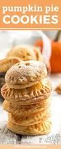 pumpkin pie cookies fun holiday dessert recipe savory nothings