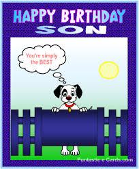 happy birthday son clipart 61