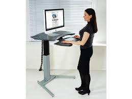 Motorized Adjustable Desk Motorized Xo2 El Standing Desk With Single Or Dual Surface Design