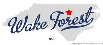 map of forest nc carolina
