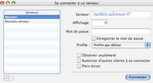connection bureau a distance mac débuter sur mac controler une machine à distance