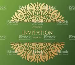 Invite Card Design Elegant Save The Date Card Design Vintage Floral Invitation Card