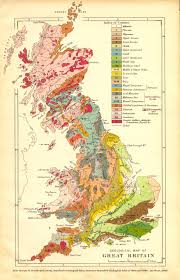 Britain Map Geology Of Great Britain Uk Introduction And Maps By Ian West
