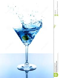 martini hawaiian blue martini royalty free stock photos image 20982128
