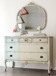 Shabby Chic Dressers by Antique Two Tone Shabby Chic Dresser Painted Furniture