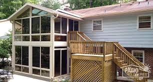 split level front porch designs expanding your split level home with a sunroom