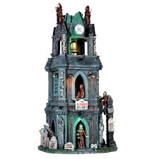 lemax halloween houses gothic galore featuring the spooky town village gift spice