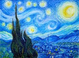 reions handmade livemaster handmade the painting starry night van gogh