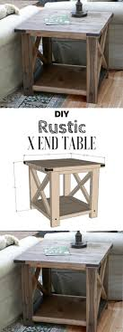 farmhouse end table plans 15 easy diy tables that you can build on a budget tutorials check