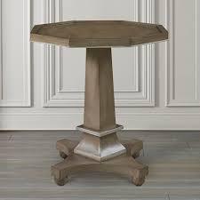 Accent Table Decor Build A Pedestal Accent Table