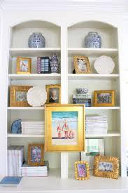 Bookshelf Styling Bookshelf Styling Pretty Vignettes Bright Bold And Beautiful