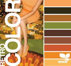 retro colors 1960 u0027s 1970 u0027s avocado harvest gold burnt orange