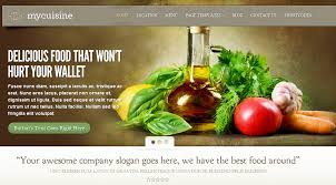 mycuisine theme for food businesses wp solver