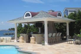 Outdoor Kitchen Design Software Pavilions Homestead Structures 18 X Vintage Pavilion With Bar
