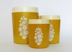 yellow kitchen canisters yellow kitchen canister set images where to buy kitchen of dreams