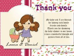 baby shower thank you notes thank you messages for baby shower messages and gifts wordings