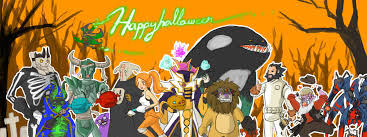 happy halloween artwork i drew this while waiting for the halloween patch dota2
