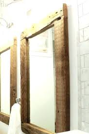 Oak Framed Bathroom Mirror Mirrors For Bathrooms Oak Framed Bathroom Mirror