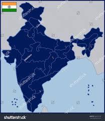 blank map india stock vector 286273274 shutterstock