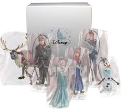 disney s frozen ornament set 6 pvc figure